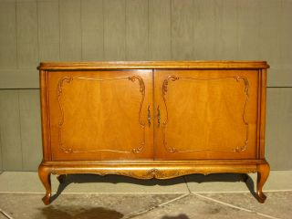 Vintage French Provincial Buffet Sideboard Credenza Chic French Country Cottage photo