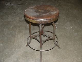 Antique Stool War Era Property Us Goverment Bendix photo