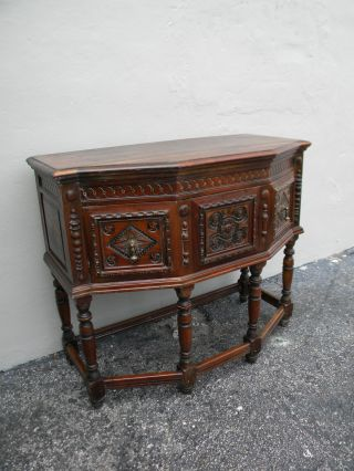 Mahogany Heavy Carved Buffet/server 2030 photo