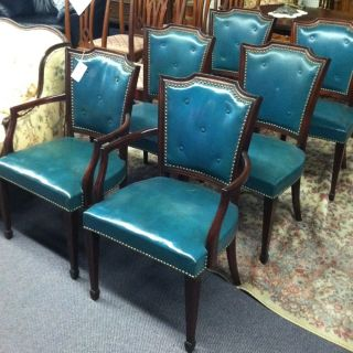Set 6 Dining Room Chairs By Johnson Bros.  Furn.  Co. photo