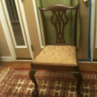 Philadelphia Chippendale Style Antique Chair - Own An Antique At A Great Price photo
