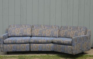 Mid Century Modern Harvey Probber Sectional 2 - Piece Sofa Vintage Dunbar Design photo