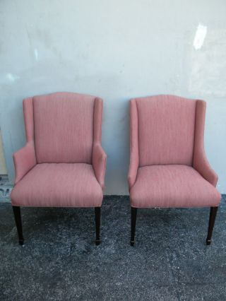 Pair Of Mid Century Side By Side Chairs 1888 photo