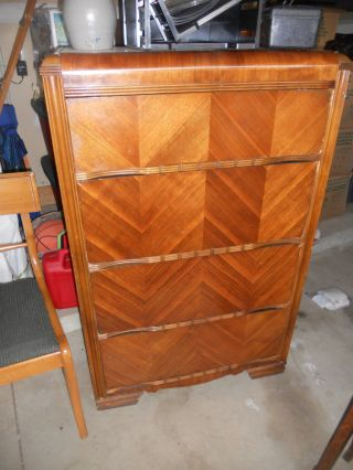 Art Deco Chest Of Drawers In Good Shape photo