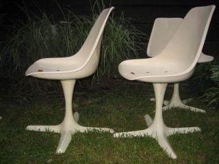 Four Cool Mid Century Modern Burke Saarinen Chairs 1960 ' S photo