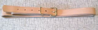 Sixty Inch Top Grain Natural Leather Strap 4620 photo