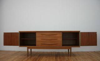Retro Sideboard Teak Vintage 60s 70s Long & Low photo