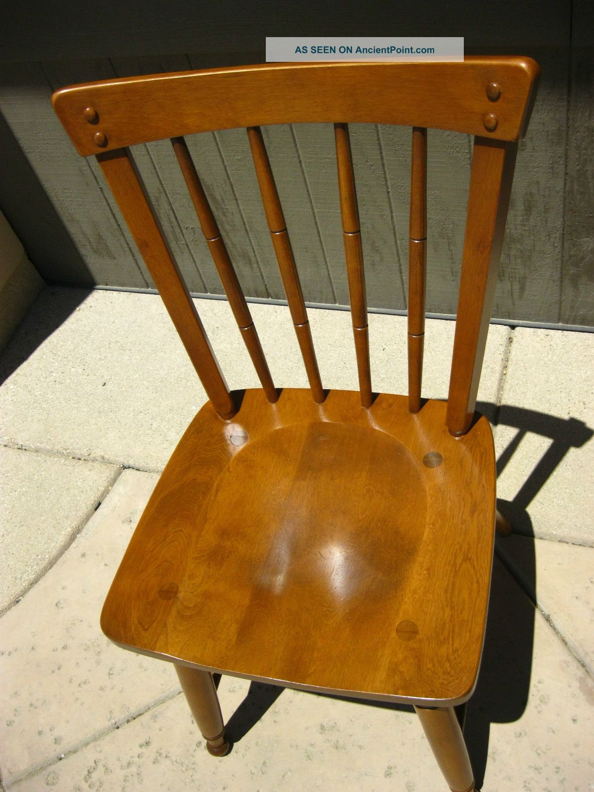 Vintage Ethan Allen Computer Desk Chair, Side, & Accent French ...