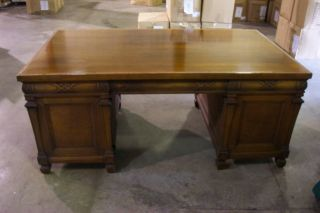 Doten - Dunton Georgian Style Walnut Desk photo