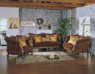 Gorgeous&elegant Westmoreland Carved Sofa Set Of Two photo