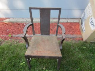 Antique Paine Furniture Boston Side Chair W/paper Tag photo