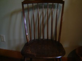 Set Of 6 Windsor Chairs photo