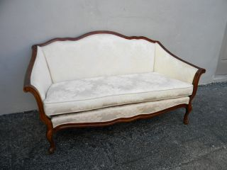 French Carved Love Seat By Bernhardt 2735 photo