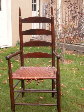 Early Slat Back Armchair Decorative Furniture House Furnishings photo