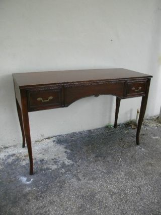 Mahogany Vanity Desk By Rway 1192 photo