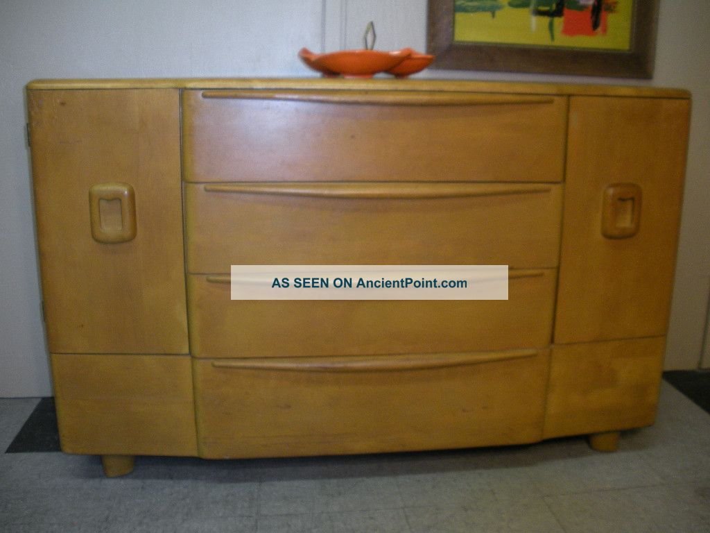 1950 ' S Heywood Wakefield Credenza Buffet Modern Mid Century Retro With Drawers Post-1950 photo