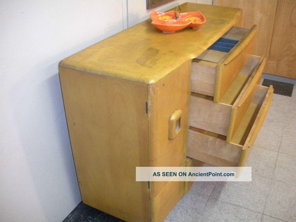 Mid Century Modern Triple Dresser Credenza Bed Mattress Sale