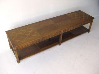 6 Foot Long Coffee Cocktail Table Mid Century Modern American Of Martinsville photo