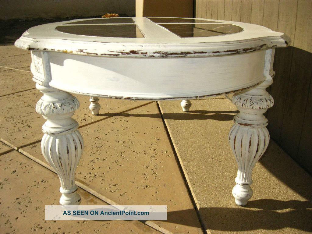 Vintage Distressed Coffee Table Images