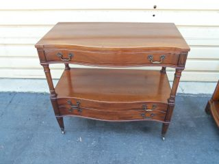 50348 Solid Mahogany Georgetown Galleries Buffet Server Sideboard photo