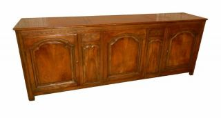 Baker Furniture Sideboard Antique French Country Style Buffet Server Credenza photo