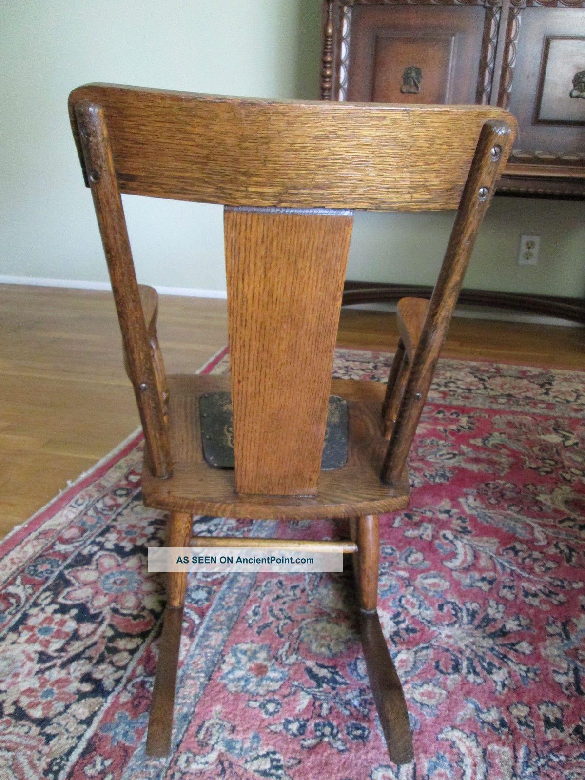 Antique Wooden Rocking Chair C 1920