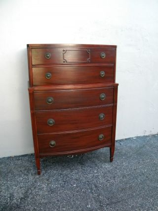 Mahogany Chest Of Drawers 1756 photo