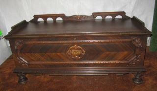 Vintage Cedar Hope Chest,  Cavalier Cedar Chest photo