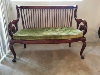 Antique/vintage Settee photo