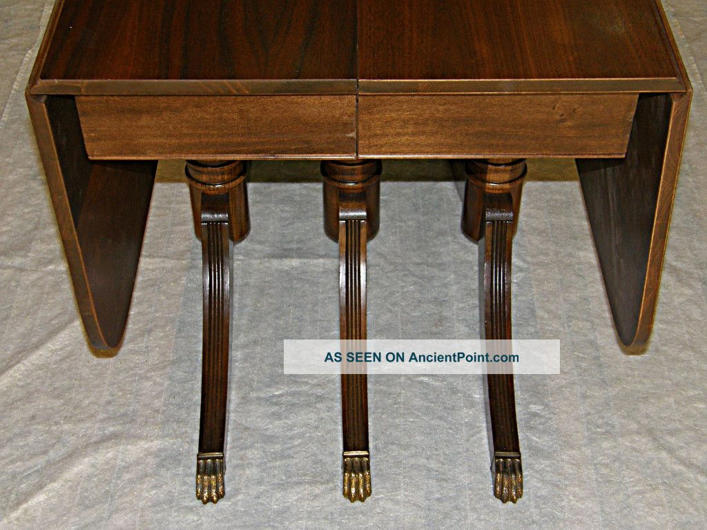 Duncan Phyfe Dining Table And Chairs Images