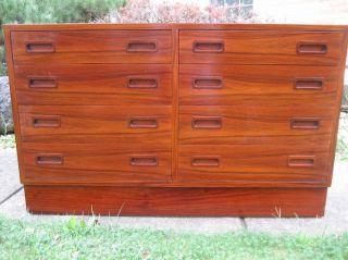 Danish Modern Rosewood Poul Hundevad Credenza Cabinet Dresser photo