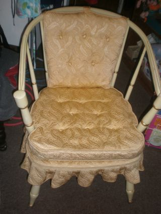Antique Chair Made By Actress Gloria Swanson photo