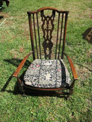 Antique Sewing Chair photo