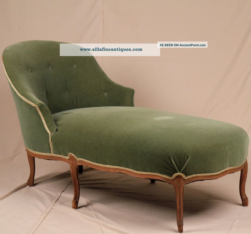 antique chaise lounge styles images