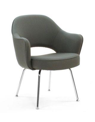 Knoll Saarinen 71c Arm Executive Chair Modern Design Within Reach Eames Era Nib photo