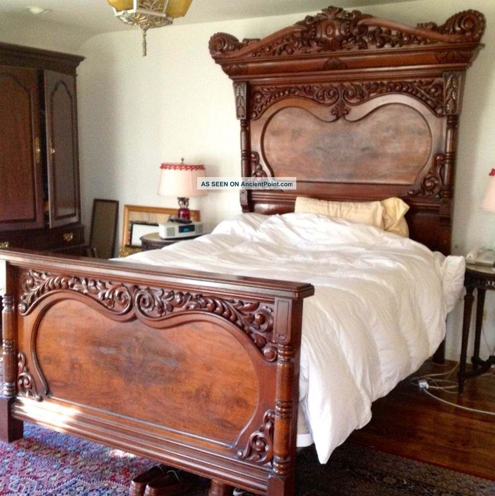 Antique Victorian Beds The Image Kid