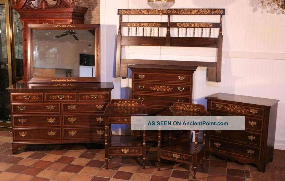 Ethan Allen Mahogany Bedroom Set Car Interior Design