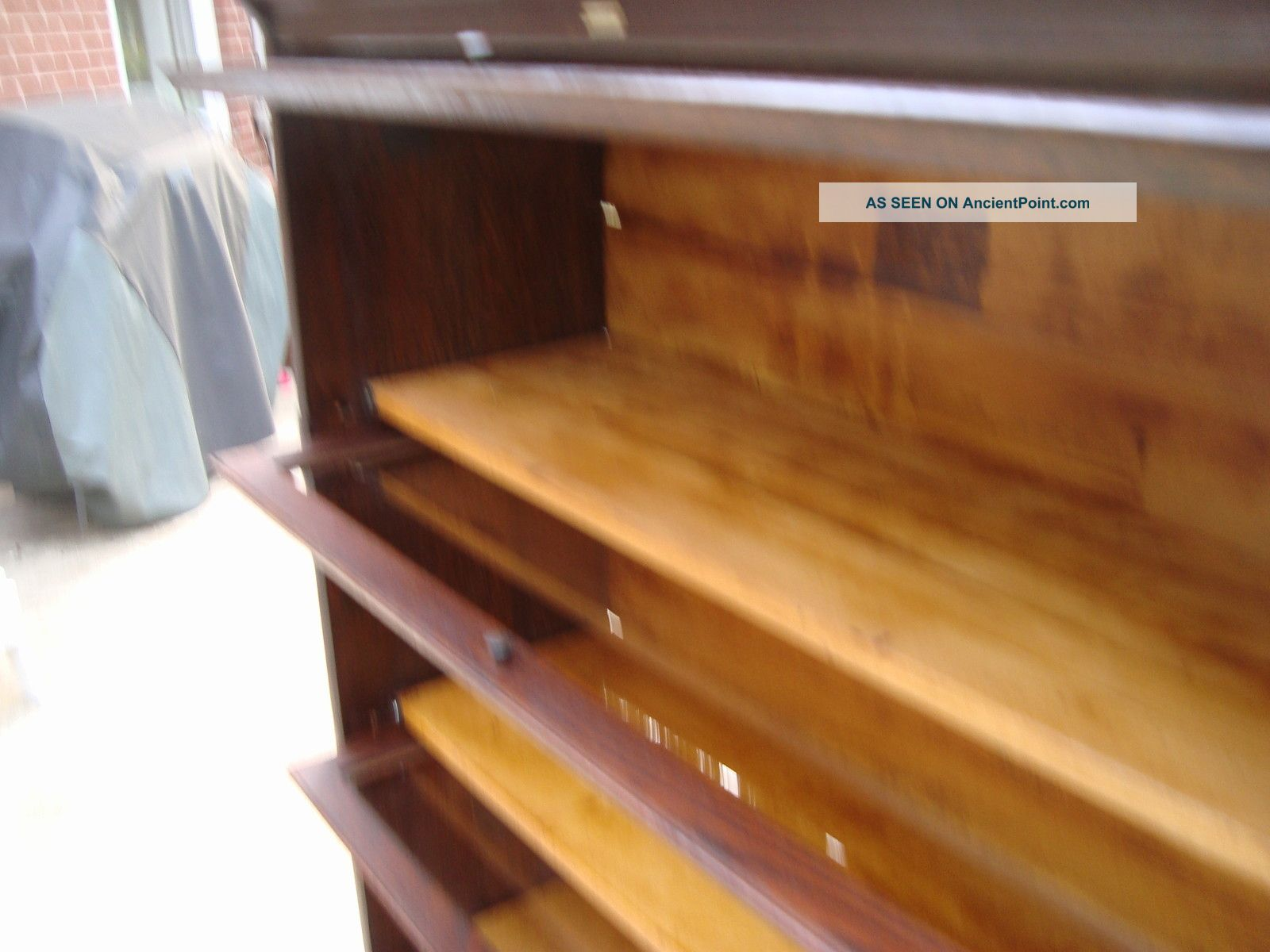 Antique Barrister Bookcase By Lundstrom Little Falls Ny