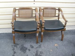 46367 Pair Mid Century Modern Armchair S Chairs Chair S photo