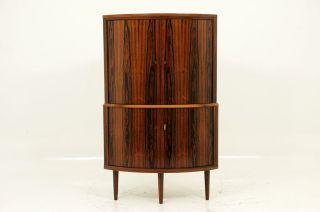 Stunning Rosewood Corner Cabinet photo
