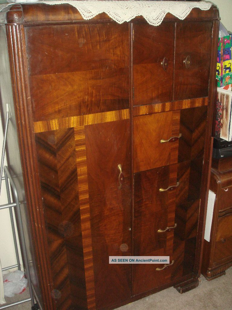 ... Waterfall Wardrobe Source · Captivating Antique Art Deco Bedroom  Furniture Pictures Best