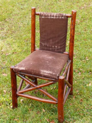 Martinsville Indiana Old Hickory Chair Basket Weaved photo