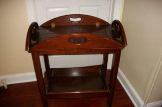 Butler Tray Table photo
