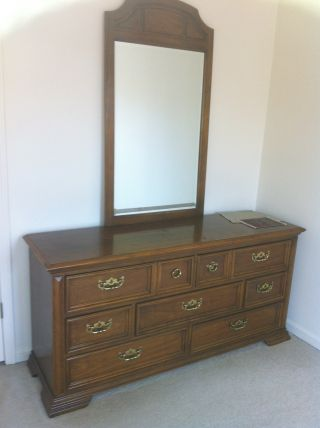 Antique Dresser - Real Oak photo