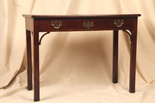 Late 18th Century English Chippendale Antique Desk Table,  Partially Composed photo
