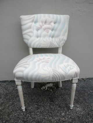 French Antique Painted Side Chair 2361 photo