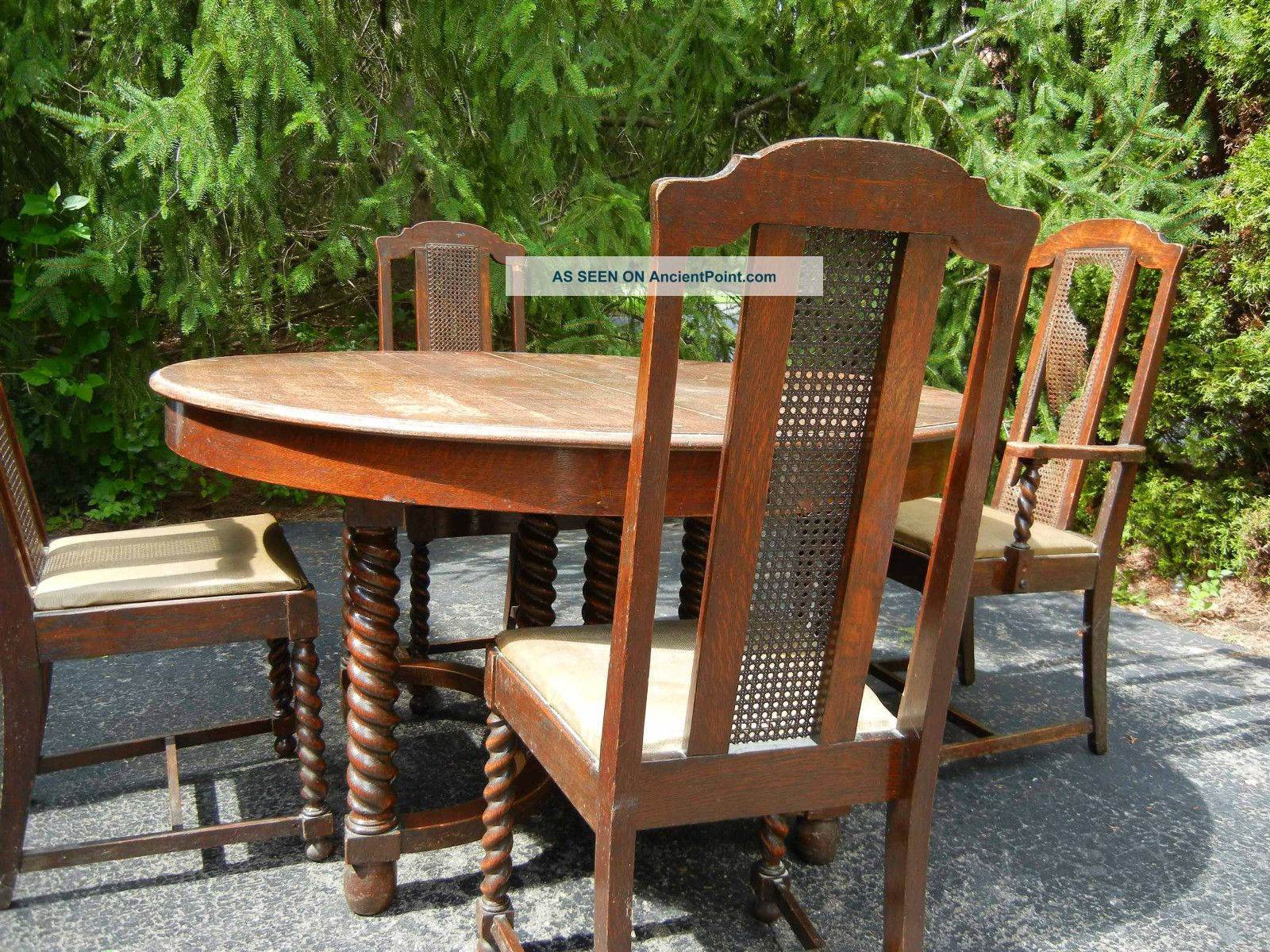 Griggs Antique Dining Room Table And Chairs New Lower Price 1900 1950