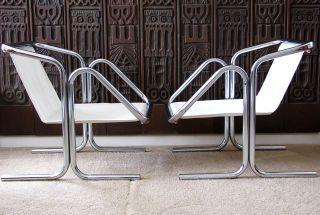 Mid Century Modern Jerry Johnson Arcadia Chairs Panton Eames Era photo