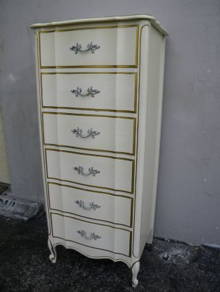 French Painted Lingerie Chest By Dixie 1801 photo