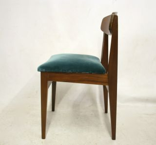 Retro Chair 60s 70s Danish Vintage Teak Dining photo